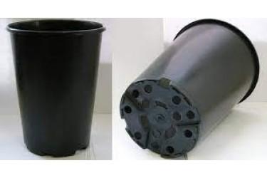 Горшок 3Д16Р 3л розы черный (литой)