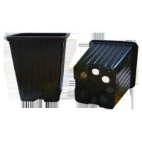 Горшок КВ7М (7*7*6,5 см, 0,21 л) черный